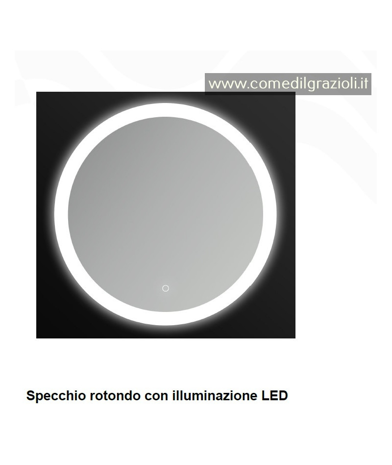 SPECCHIO A LED ROTONDO D.60...