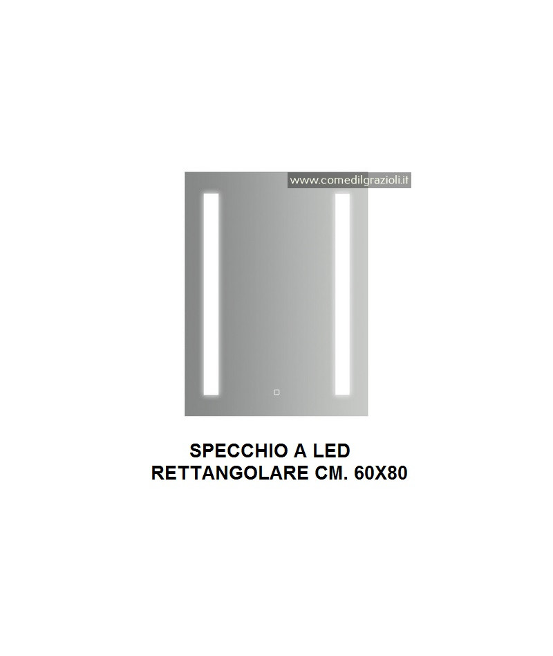 SPECCHIO A LED RETTANGOLARE...