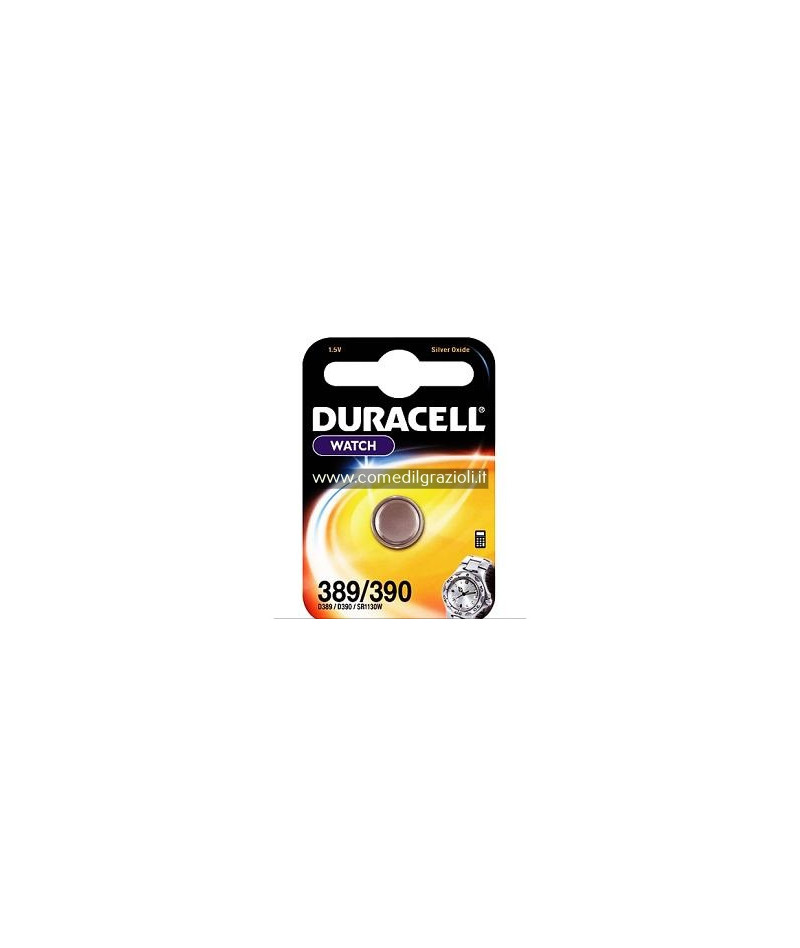 PILE DURACELL SPECIAL 389/390