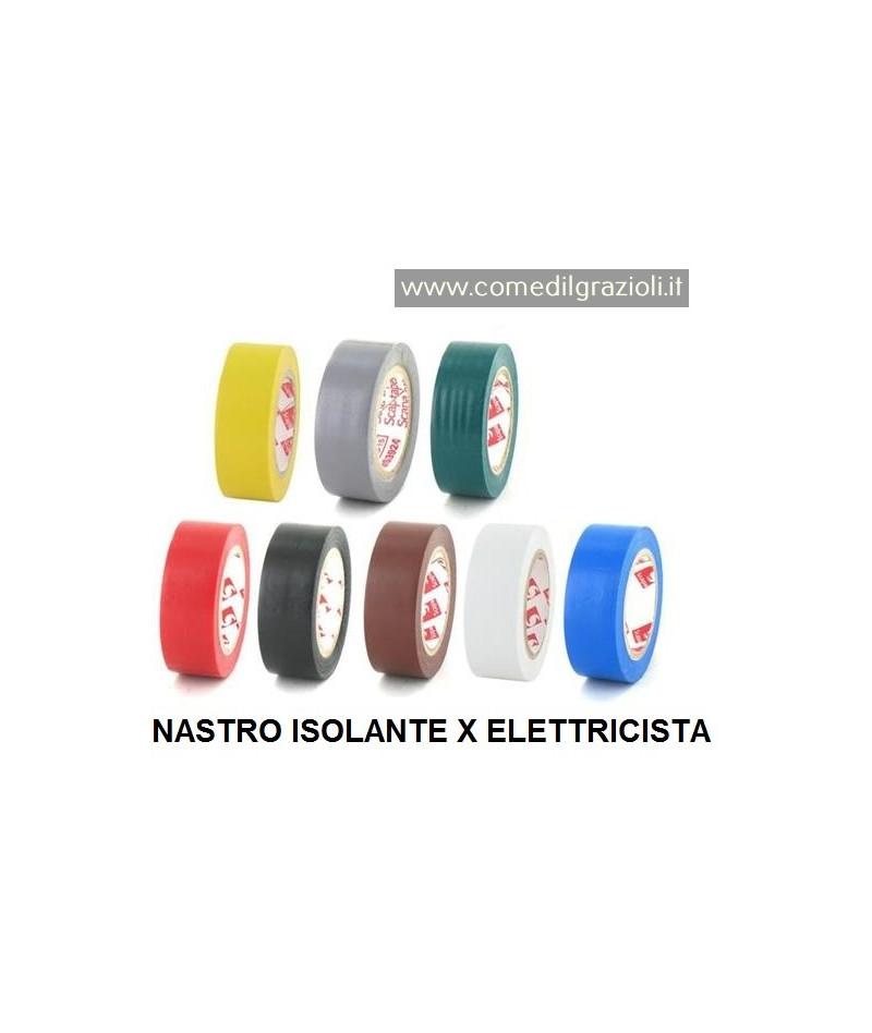 NASTRO ISOLANTE ROSSO 15X10...