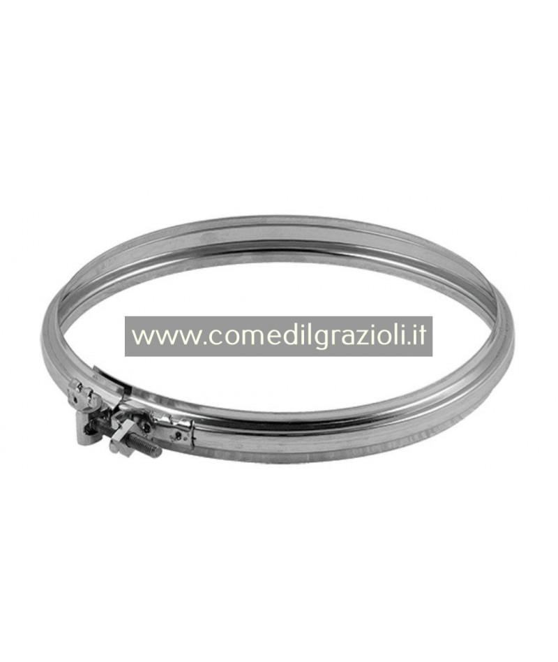 FASCETTA INOX MAT D.150 CON...