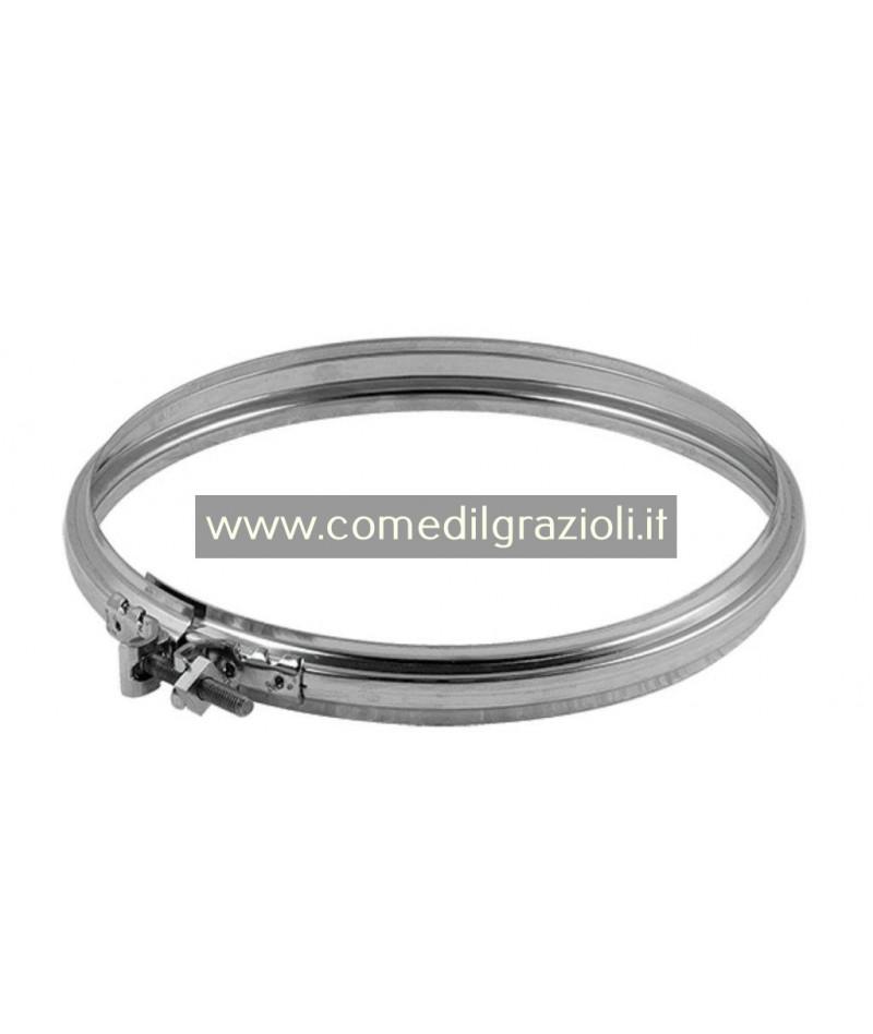 FASCETTA INOX MAT D.130 CON...