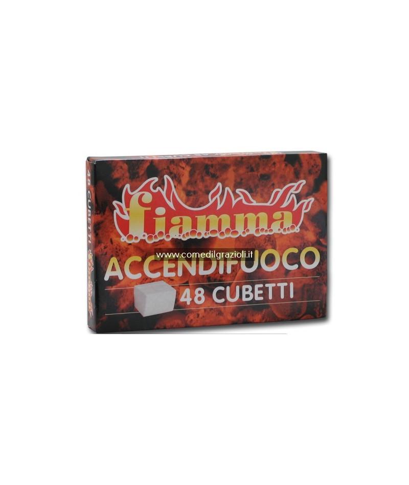 ACCENDIFUOCO  48 CUBETTI...