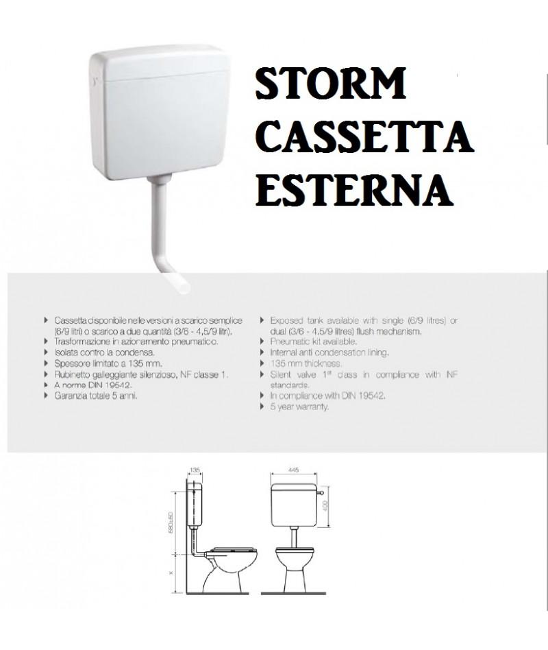 STORM CASSETTA WC DOPPIO...
