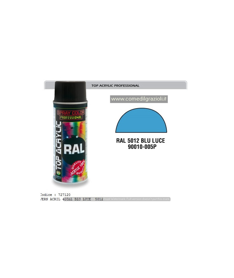 SPRAY ACRILICO RAL 5012 BLU...