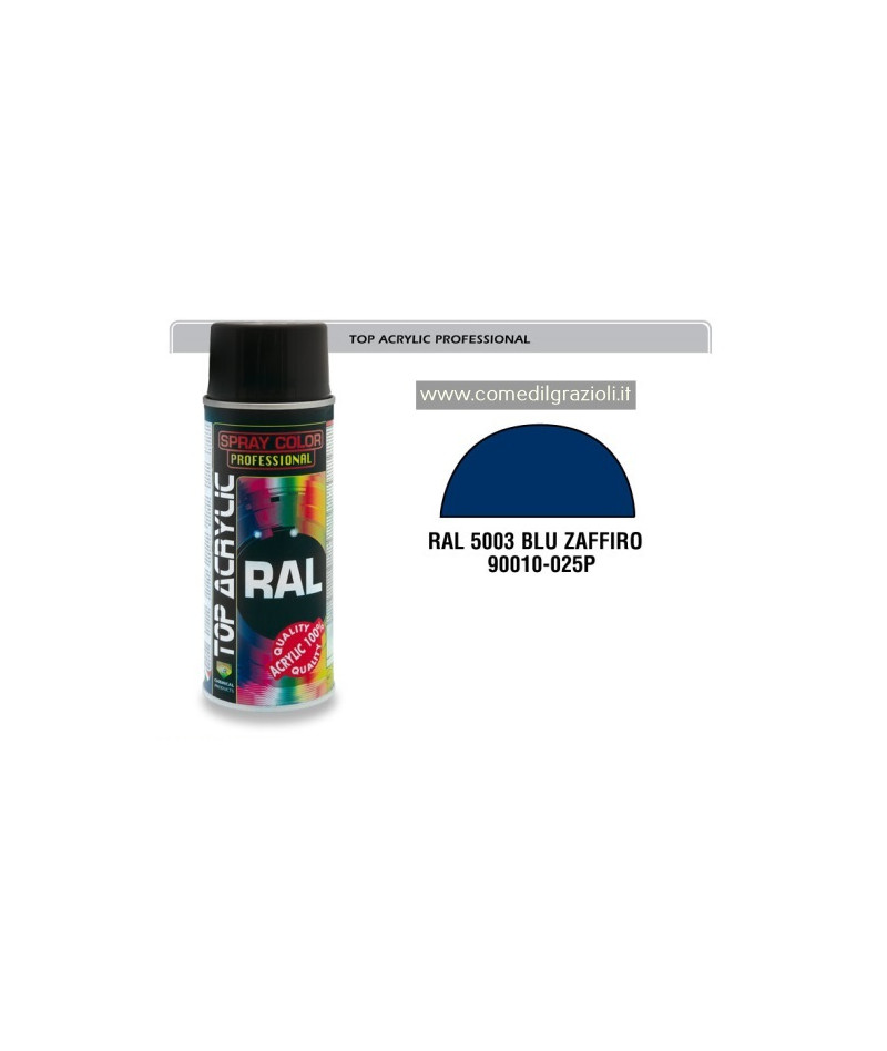 SPRAY ACRILICO RAL 5003 BLU...