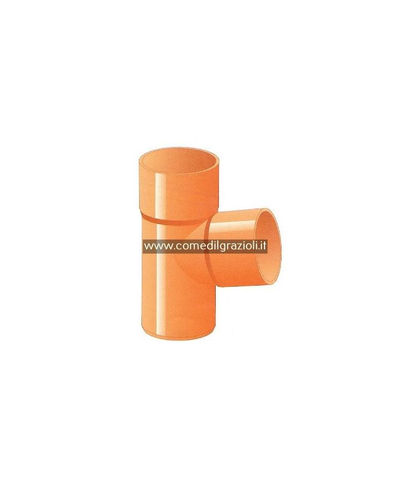 TE PLASTICA ROSSA D.63 mm.A...