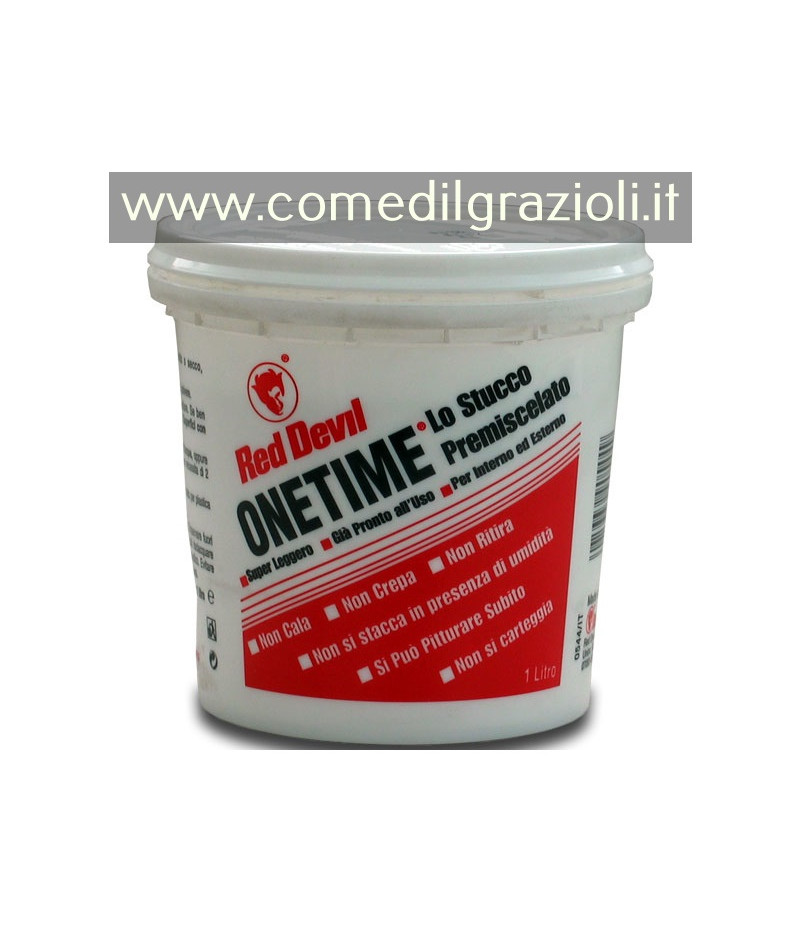 STUCCO PER MURO ML.1000 RED...