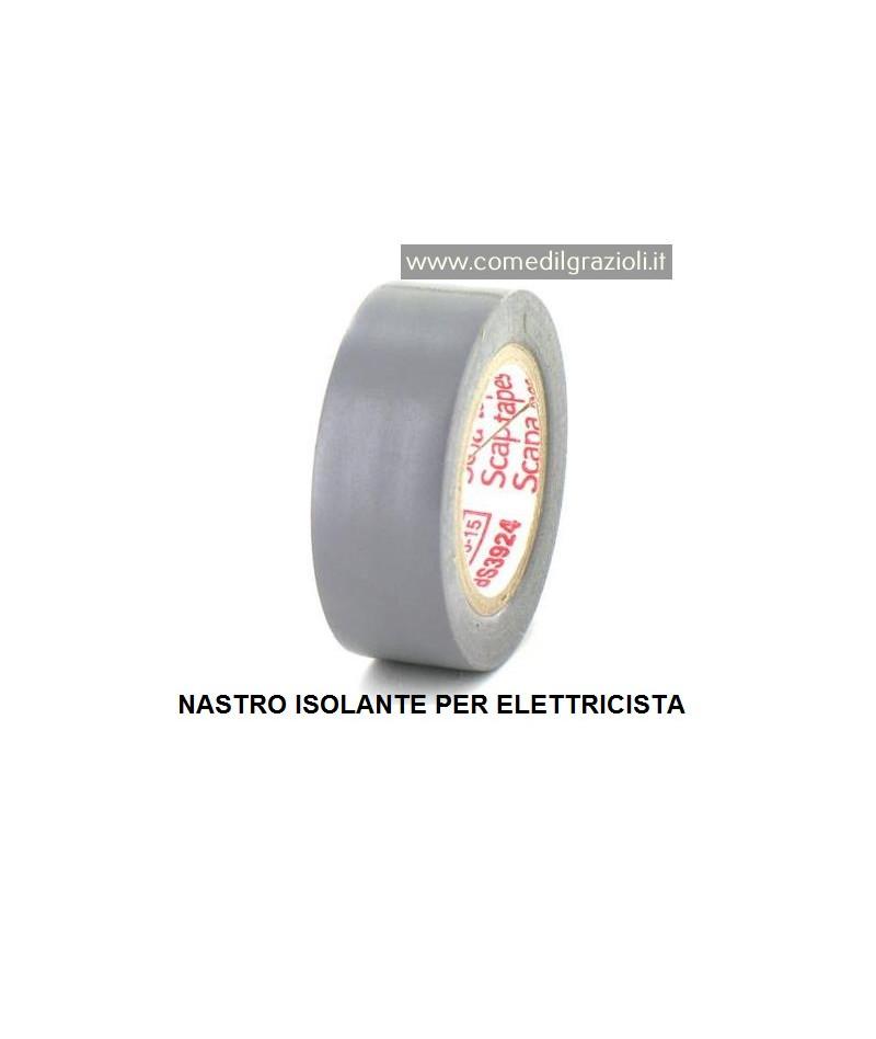NASTRO ISOLANTE GRIGIO MT....